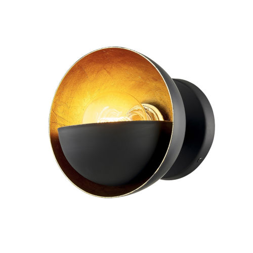 Sunset Blvd Aged Bronze One-Light Wall Sconce