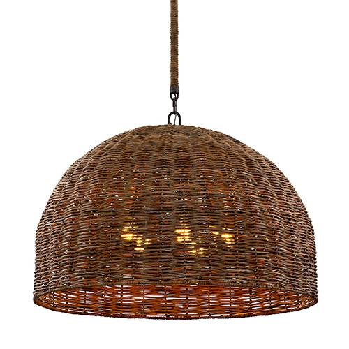 Huxley Tidepool Bronze 34-Inch Five-Light Pendant