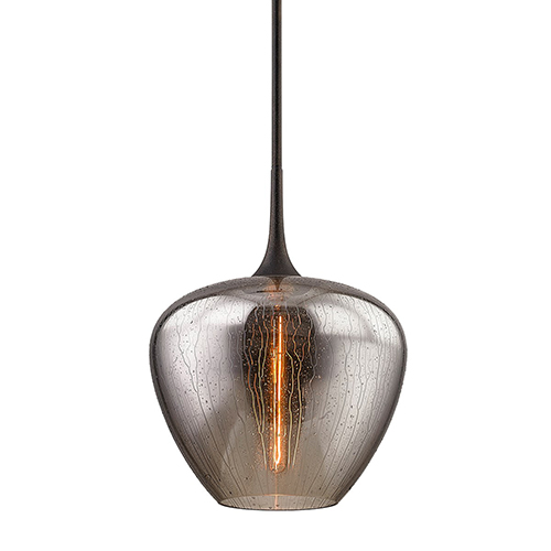West End Vintage Bronze 16-Inch One-Light Pendant