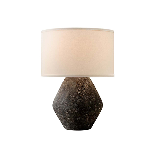 Artifact Graystone Table Lamp with Linen shade