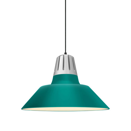 Heavy Metal Tahitian Teal 20-Inch One-Light Pendant