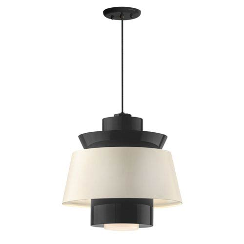 Aero Black LED 14-Inch Pendant