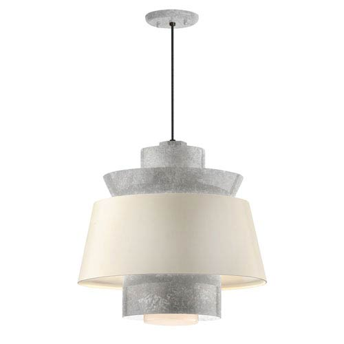 galvanized lighting. Troy RLM Lighting Aero Galvanized LED 14-Inch Pendant Galvanized Lighting T