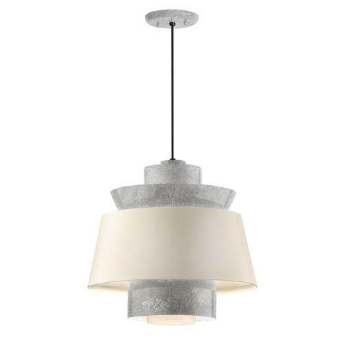 Aero Galvanized LED 16-Inch Pendant
