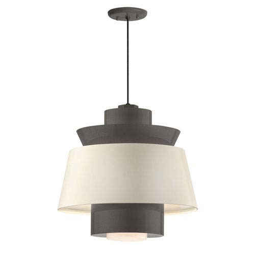 Aero Textured Bronze LED 16-Inch Pendant