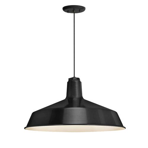 Essentials by Troy RLM Standard Black One-Light Outdoor Pendant