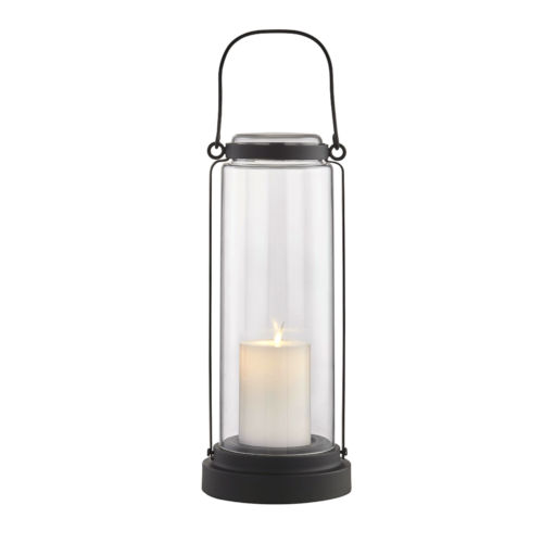 Fillmore Black Six-Inch LED Outdoor Table Lantern
