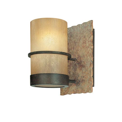 Bamboo One-Light Bath Fixture