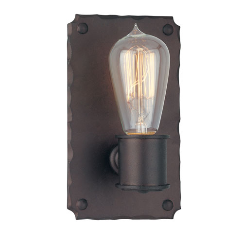 Jackson Copper Bronze One-Light Wall Sconce