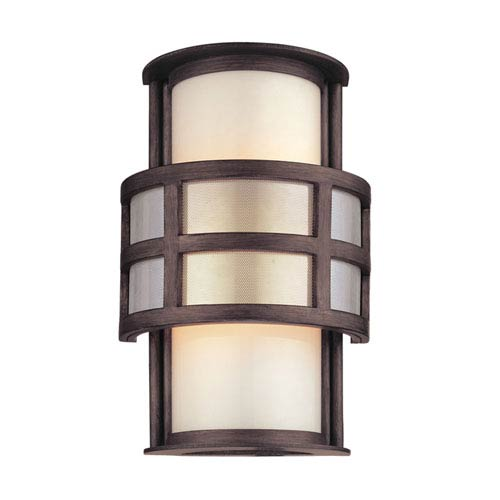 Discus Graphite One-Light Outdoor Wall Mount