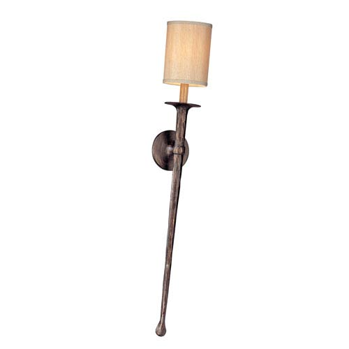 Troy Pompeii Bronze Faulkner Large One-Light Wall Mount