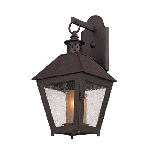 Troy Centennial Rust Sagamore Small One-Light Wall Mount