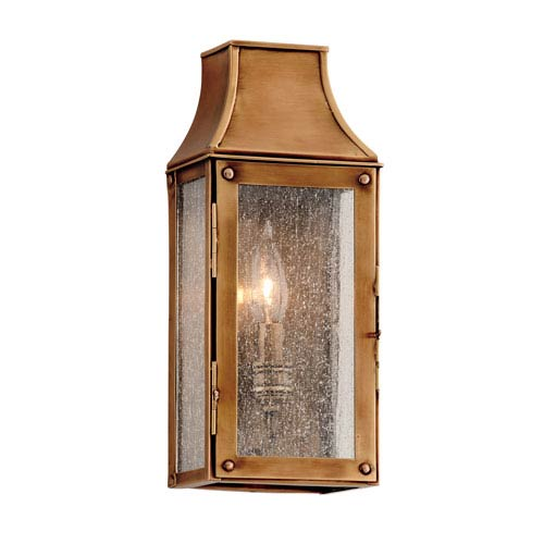 Troy Heirloom Brass Beacon Hill One-Light Tall Wall Mount