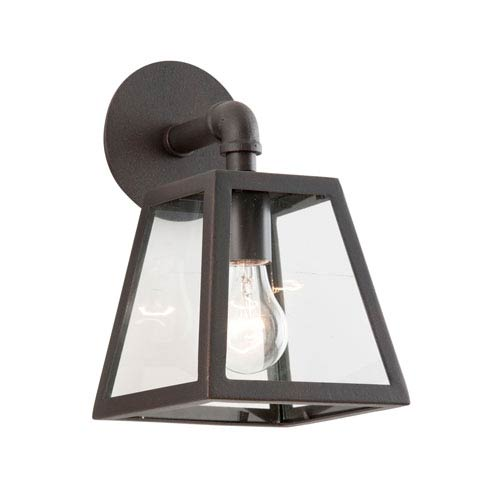 Troy River Valley Rust Amherst Small One-Light Wall Mount