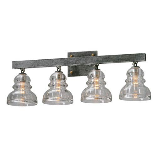 Troy Menlo Park Deep Bronze Four Light Vanity Fixture
