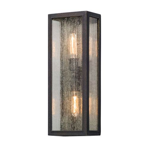 Dixon Vintage Bronze Two-Light Outdoor Wall Lantern