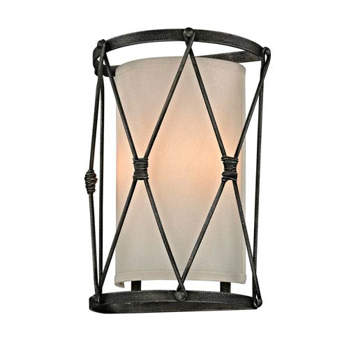 Palisade Aged Pewter Wall Sconce