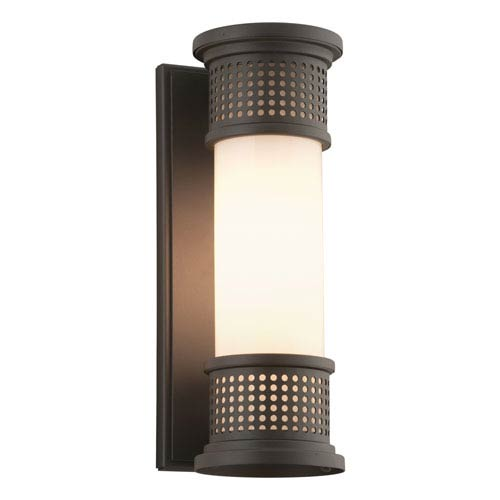 Marine grade outdoor lighting bellacor troy mcqueen bronze one light four inch fluorescent outdoor wall sconce with marine grade aloadofball Image collections