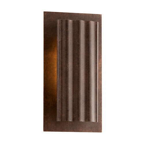 Troy Dwell Country Rust One-Light Small LED Wall Sconce