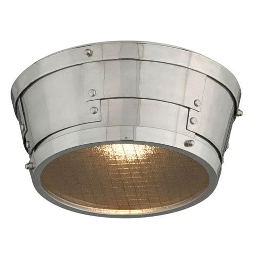 Idlewild Aviation Gray One-Light Eleven-Inch LED Flushmount