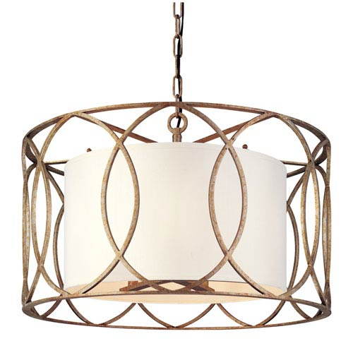 Sausalito Five Light Drum Pendant