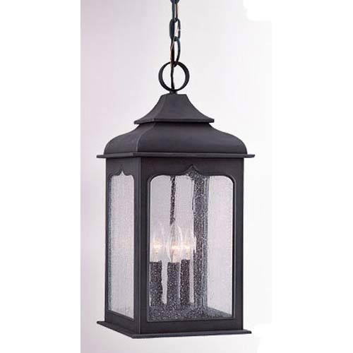 Williamsburg® Henry Street Three-Light Outdoor Pendant