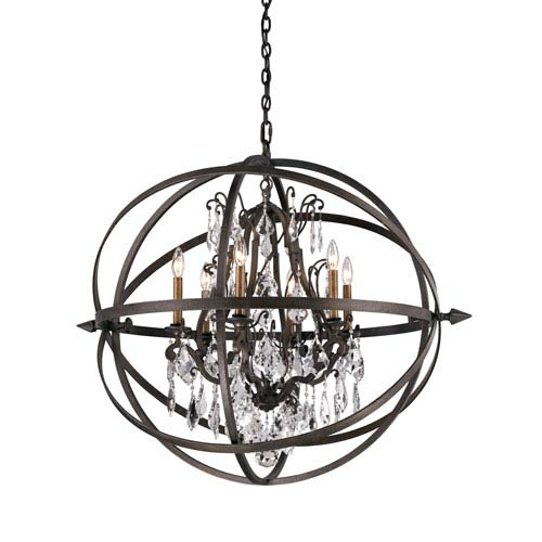 Vintage Bronze Byron Six-Light Pendant