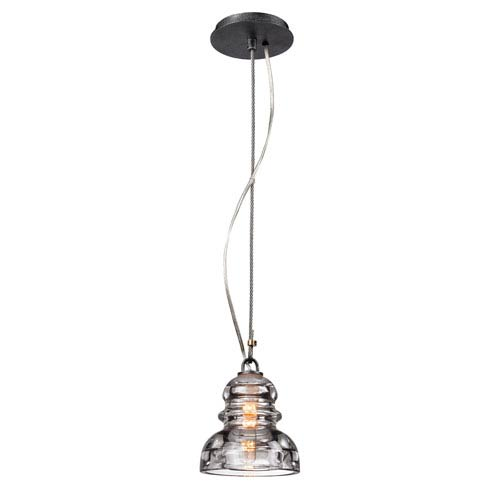 Troy Old Silver Menlo Park One-Light Mini Pendant