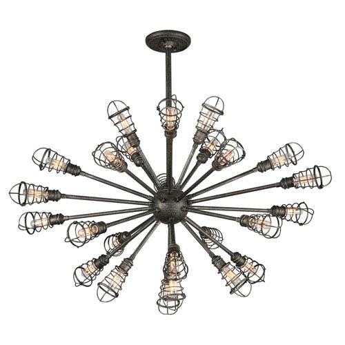 Conduit Old Silver 25 Light Extra Large Pendant