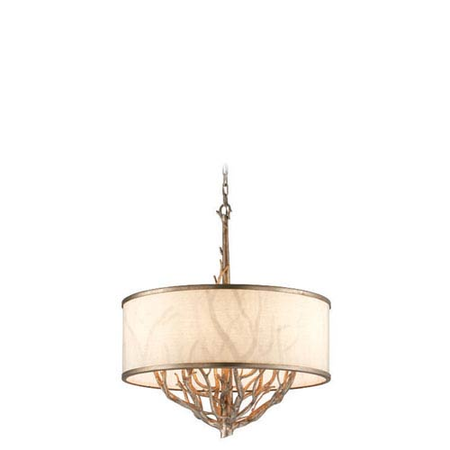 Troy Whitman Vienna Bronze Six Light Pendant
