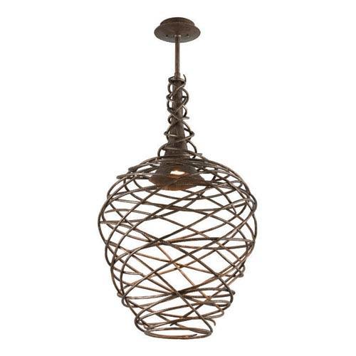 Troy Sanctuary Cottage Bronze LED One Light Pendant