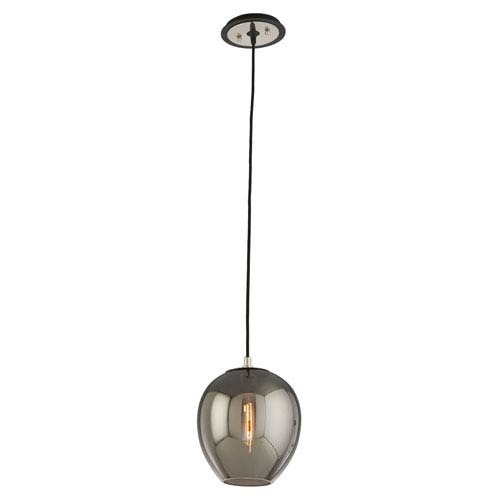 Odyssey Carbide Black One-Light Nine-Inch Mini Pendant