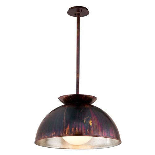 Library Copper Patina 28-Inch One-Light Pendant