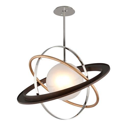 Apogee Bronze LED 30-Inch Globe Pendant