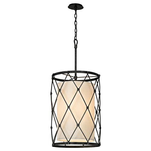 Palisade Aged Pewter Four-Light Pendant