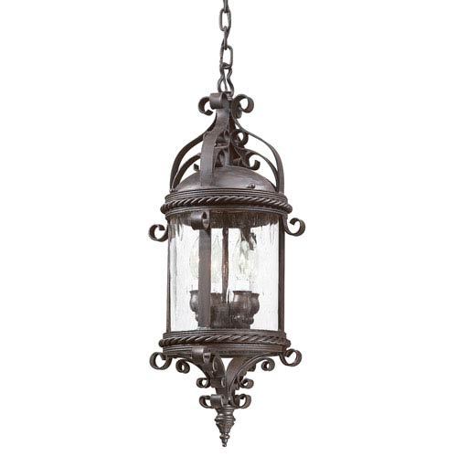 Hand forged candelabra outdoor pendant bellacor hand forged orb troy pamplona large four light outdoor pendant aloadofball Image collections