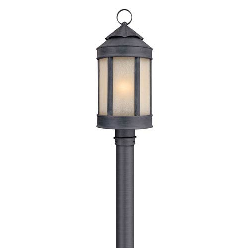 Anderson's Forge Large Outdoor Post Mounted Light