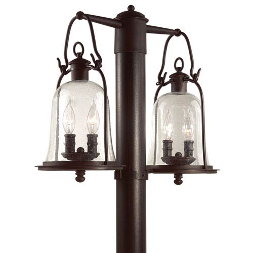 Owings Mill Medium Four-Light Outdoor Post Mount