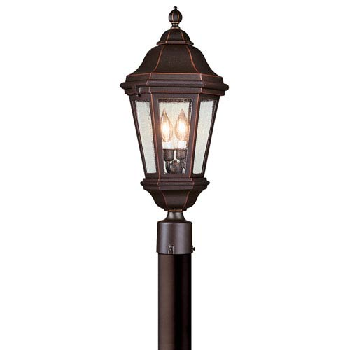 Aluminum Candelabra Post Light | Bellacor