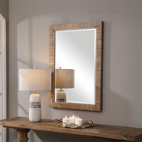 Cape Brown 29-Inch Mirror