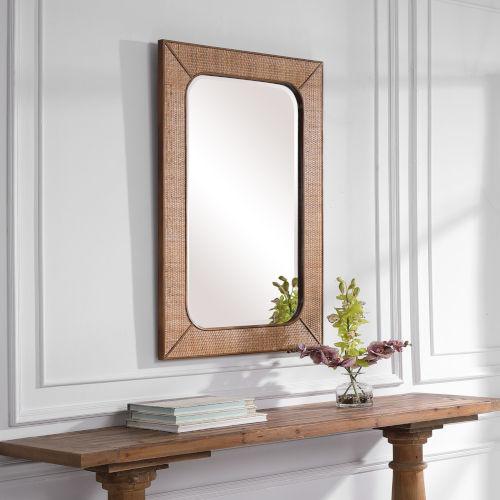 Tahiti Warm Maple Mirror
