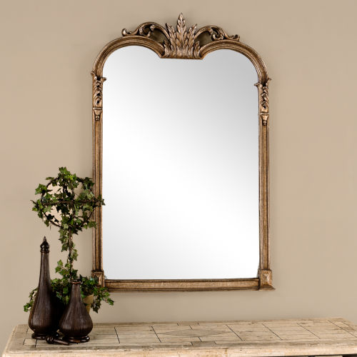 Jacqueline Gold Wall Mirror