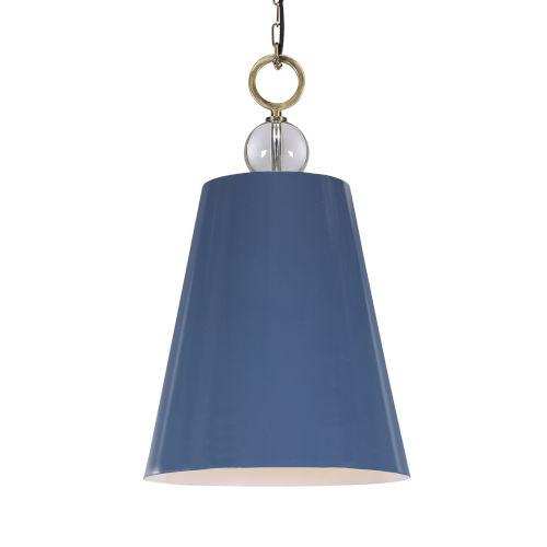 Delray Blue One-Light Pendant