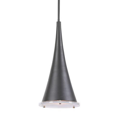 Kemi Sanded Black One-Light Pendant