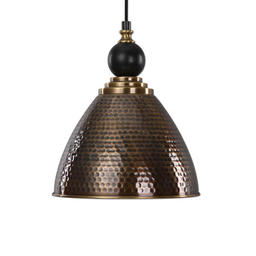 Adastra Brass One-Light Pendant