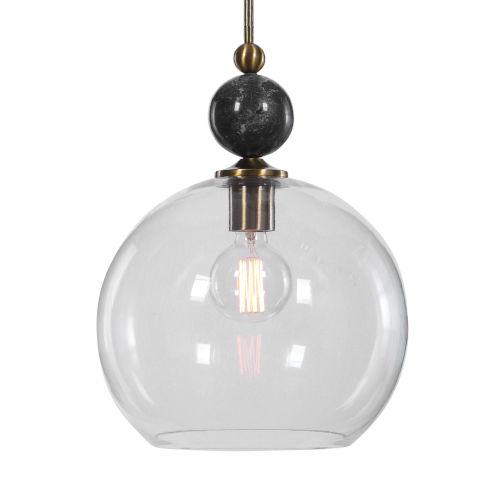 Mendota Clear 1-Light Pendant
