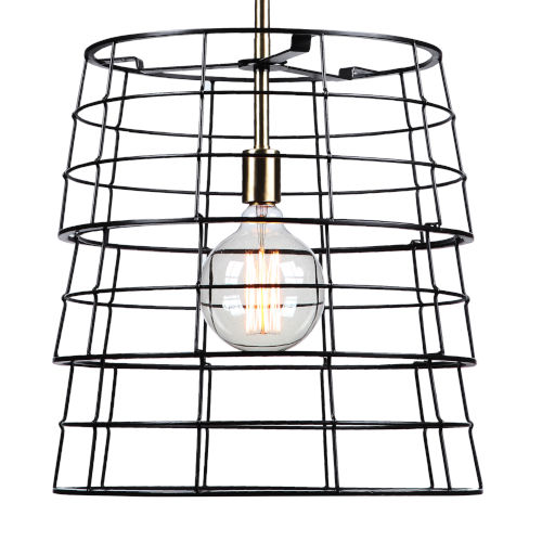Grader Iron 1-Light Pendant