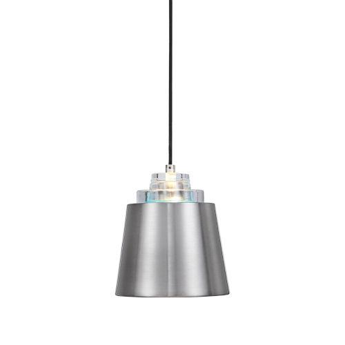 Pratt Nickel 1-Light Mini Pendant