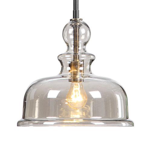 Eaton Clear 1-Light Pendant