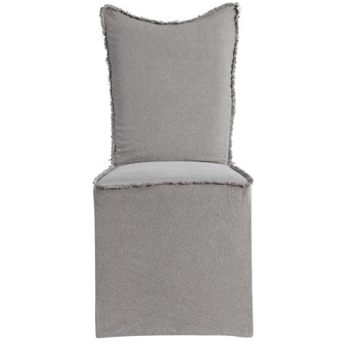 Narissa Gray Armless Chair, Set of 2